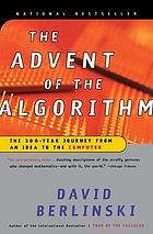 The advent of the algorithm : the 300-year journey from an idea to the computer