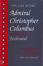 The life of the admiral Christopher Columbus