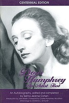 Doris Humphrey: an artist first. An autobiography