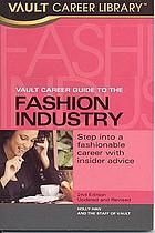 The Vault career guide to the fashion industry