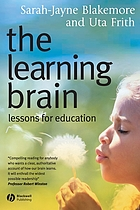 The learning brain : lessons for education