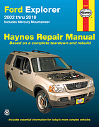 Ford Explorer & Mercury Mountaineer automotive repair manual