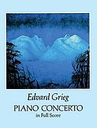 Concerto for piano, opus 16 : with the orchestral accompaniment arranged for a second piano
