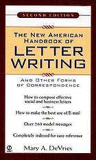The new American handbook of letter writing and other forms of correspondence