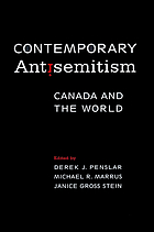 Contemporary antisemitism : Canada and the world