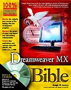 Dreamweaver MX bible