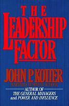 The leadership factor