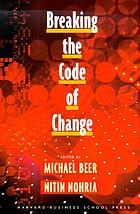 Breaking the code of change