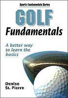 Golf fundamentals