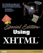 Using XHTML