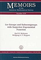 Lie groups and subsemigroups with surjective exponential function