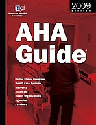 AHA Guide to the Health Care Field