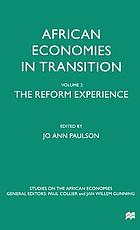 African economies in transition