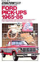 Chilton Book Company repair & tune-up guide. all U.S. and Canadian models of F-100, F-150, F-250, F-300, F-350, 2 and 4-wheel drive, gasoline and diesel engines