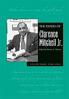 The papers of Clarence Mitchell Jr