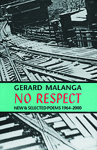 No respect : new & selected poems, 1964-2000