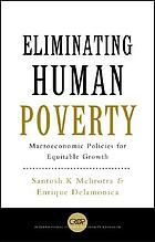 Eliminating human poverty macroeconomic and social policies for equitable growth