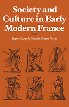 Society and culture in early modern France : eight essays