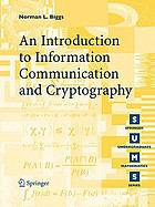 Codes an introduction to information communication and cryptography
