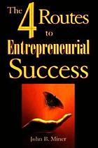 The 4 routes to entrepreneurial success