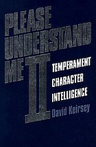 Please understand me II : temperament, character, intelligence