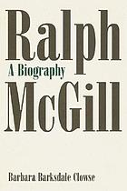 Ralph McGill : a biography