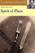 Spirit of place; letters and essays on travel