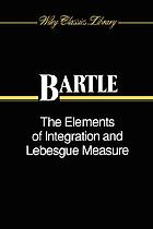 The elements of integration