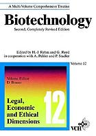 Biotechnology : a multi-volume comprehensive treatiseBiotechnology. a multi-volume comprehensive treatiseBiotechnology : a multi-volume comprehensive treatise