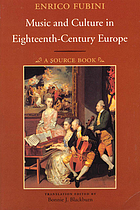 Music & culture in eighteenth-century Europe : a source book