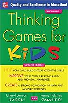 Thinking games for kids