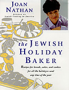The Jewish holiday baker