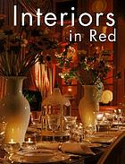 Interiors in red