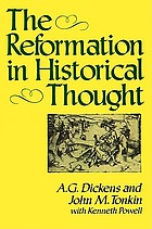 The Reformation in historical thought
