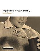 Distributed security in Windows 2000 : the developer's guide