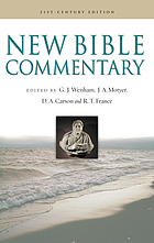 New Bible commentary : 21st century edition