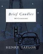 Brief candles : 101 Clerihews