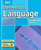 Elements of language. introductory course