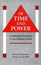 Of time and power : leadership duration in the modern world