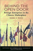 Behind the open door : foreign enterprises in the Chinese marketplace