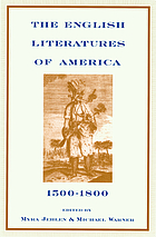 The English literatures of America, 1500-1800