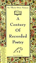 In their own voices a century of recorded poetry