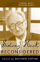 Sidney Hook reconsidered