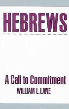 Hebrews : a call to commitment