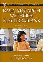 Basic research methods for librariansBasic research methods for librarians