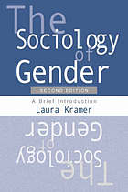 The sociology of gender : a brief introduction