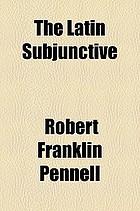 The Latin subjunctive