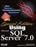 Using Microsoft SQL server 7.0Microsoft SQL Server 7.0