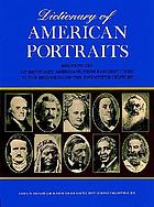Dictionary of American portraits : 4045 pictures of important Americans from earliest times to the beginning of the twentieth century