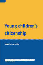 Young children's citizenship : ideas into practice